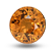 orange gemstone